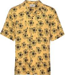 calumn p kortärmad skjorta gul tiger of sweden jeans