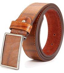 115cm mens business breve vogue leather cintura leisure slot per tablet slide cintura