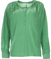 oversized blouse mag  groen