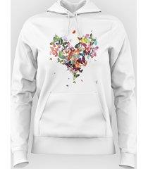 bluza butterfly heart