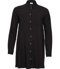 camicetta con bottoni effetto perla (nero) - bodyflirt