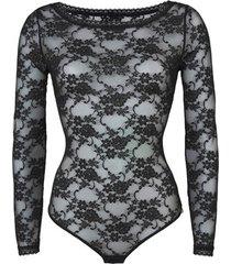 body's lascana verleiding lange mouw lace bodysuit