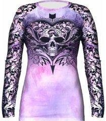 camiseta rash guard tattoo spartanus fightwear