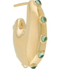 maria black caramella single earring - gold