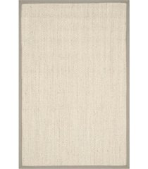 safavieh natural fiber marble and khaki 6' x 9' sisal weave area rug