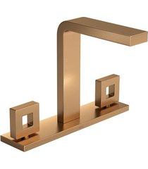 misturador para banheiro mesa dot gold matte - 1877.gl.dot.mt - deca - deca
