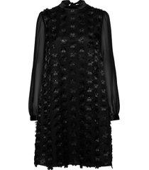 lula dress knälång klänning svart ida sjöstedt