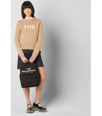 marc jacobs women's the backpack - black