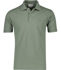 groen poloshirt lacoste classic fit