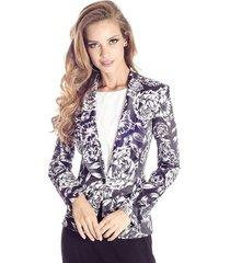 blazer floral colcci