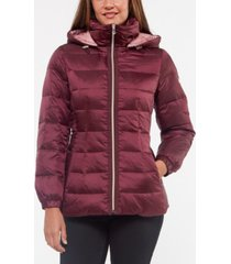 kate spade new york hooded down puffer coat