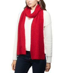 style & co rib solid scarf, created for macy's