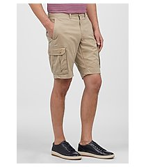 1905 collection tailored fit flat front cargo shorts - big & tall by jos. a. bank