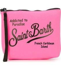 mc2 saint barth fluo pink scuba pochette