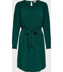 vestido  jacqueline de yong verde - calce regular