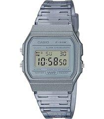 reloj gris casio vintage
