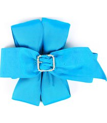 alexis mabille belt noeud blue bow blue sz: small
