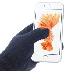 iglove interwoven touch screen gloves for iphone ipad and capacitive touchscreen