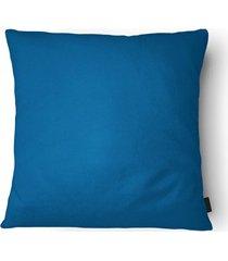 almofada em poliéster aquarela 40x40cm azul
