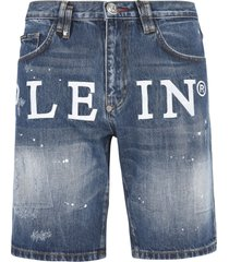 philipp plein tropez fit iconic bermuda shorts