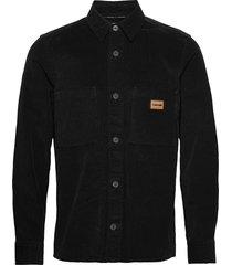 corduroy workwear shirt skjorta casual svart calvin klein