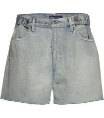 lmc cinched tab short lmc leis shorts denim shorts blå levi's made & crafted