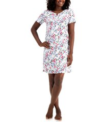 charter club plus size printed sleep shirt nightgown