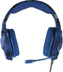audifono diadema gamer trust gxt 322b carus ps4 azul camuflada