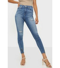 river island hailey zip regular jeans skinny