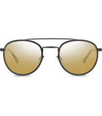 dave 52mm round sunglasses