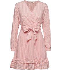belis korte jurk roze custommade