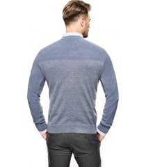 sweter ciliant półgolf niebieski