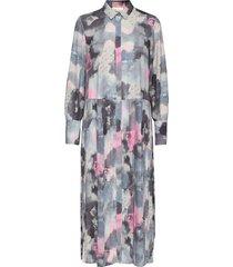 iw50 36 naomiiw dress knälång klänning multi/mönstrad inwear