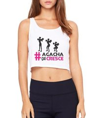 top cropped criativa urbana agacha