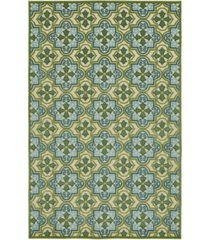 "kaleen a breath of fresh air fsr104-50 green 5' x 7'6"" area rug"