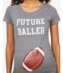 motherhood maternity future baller short sleeve maternity t shirt
