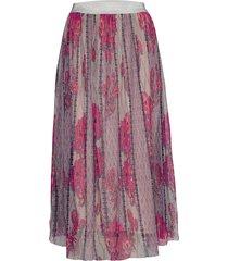 atika skirt knälång kjol multi/mönstrad unmade copenhagen