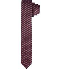 corbata pala ancha en poliéster con textura para hombre 03662