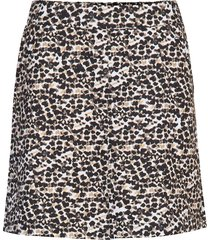 leonie sense skort 45 cm kort kjol svart daily sports