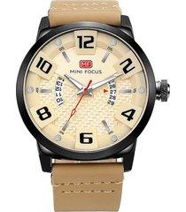 reloj análogo f0149g-4 hombre beige
