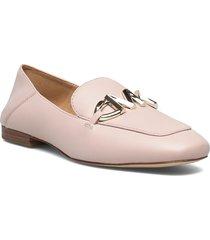 izzy loafer loafers låga skor rosa michael kors