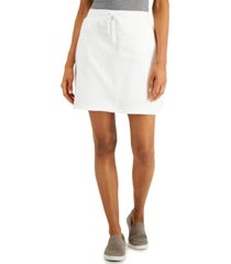 karen scott knit skort, created for macy's