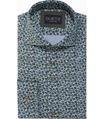 duetz1857 duetz 1857 dress overhemd print groen