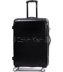 maleta delancy negro 28 calvin klein
