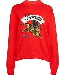 logo tiger sweatshirt