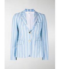 thom browne vertical-stripe sports blazer