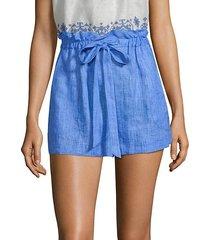 kori linen shorts