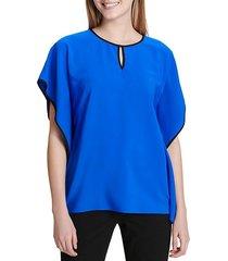 keyhole caftan blouse