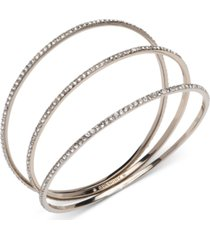 givenchy 3-pc. set crystal stack bangle bracelets