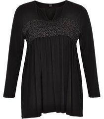 shirt lace waist vi/ea